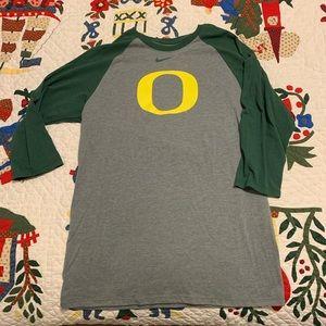 Nike Oregon Ducks baseball t-shirt